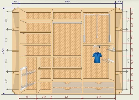 Конструктор углового шкафа купе программа